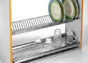 Glass Tray Plate Rack